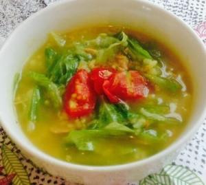 ツナと野菜のカレー風味
